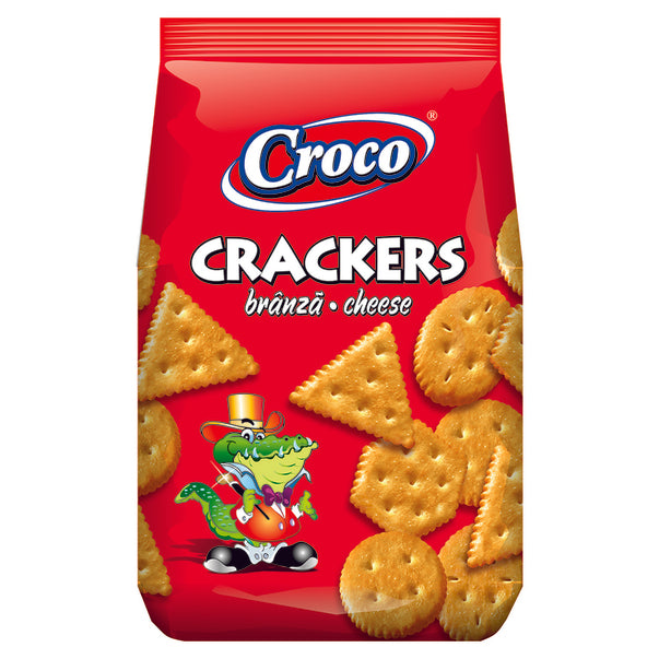 Croco Crackers Branza 100G