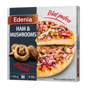 EDENIA PIZZA HAM MUSHROOMS 425GR