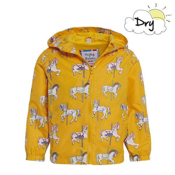 Carousel Horse Color Changing Raincoat