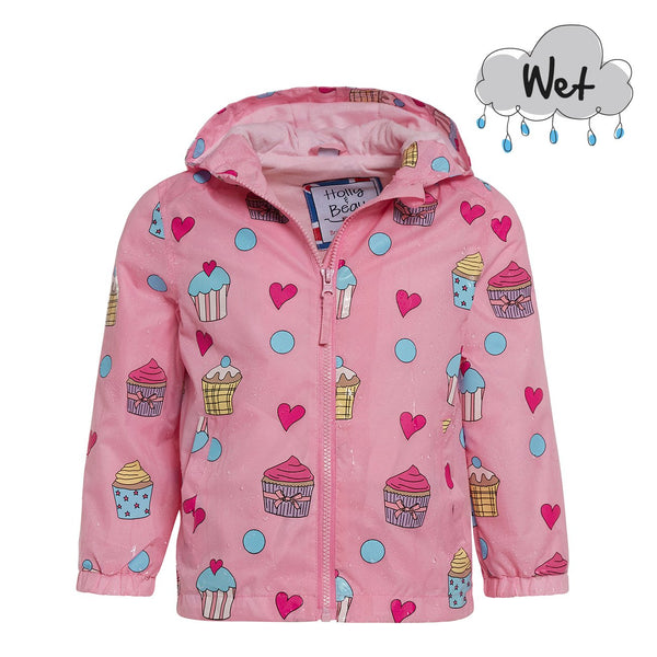 Cupcake Color Changing Raincoat