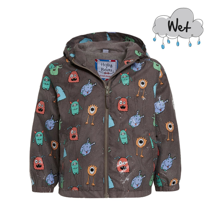 Monster Colour Changing Raincoat