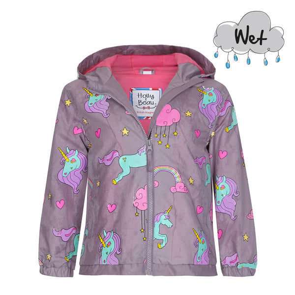 Unicorn Colour Changing Raincoat
