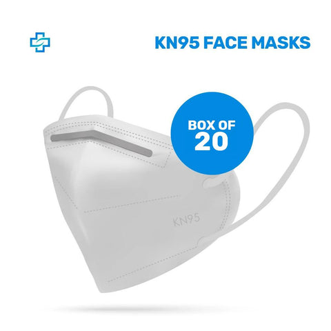 Pack of 20x KN95 High Quality Face Mask N95 (95 cents each)