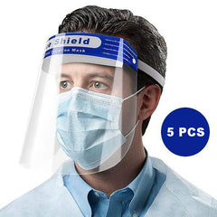 5 X Protective Transparent Face Shield (2.59 each)