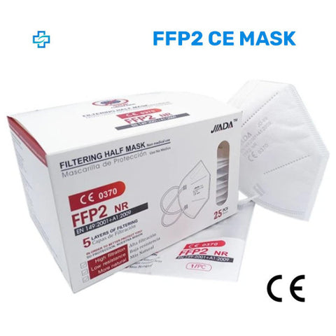 Pack of 25x FFP2 CE 5-layers Face Mask - better than KN95 (0.92 each)