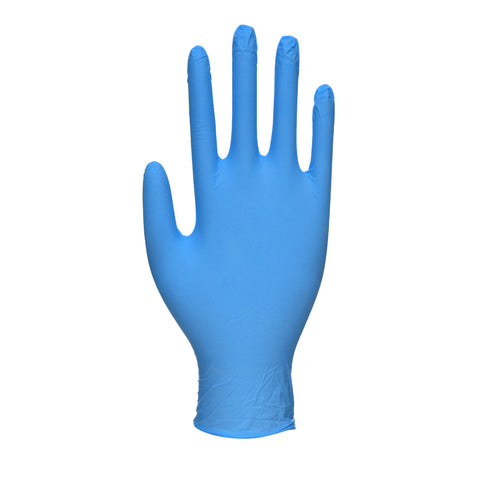 100 x Nitrile Gloves Disposable Blue