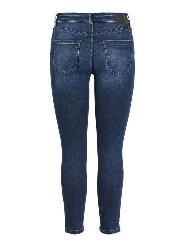Dark navy washed jeans
