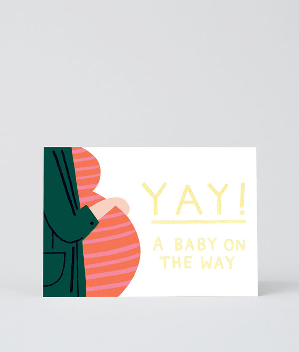 Card - Yay A Baby On The Way