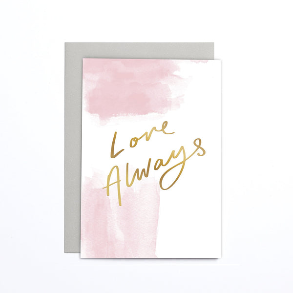 Card - love always