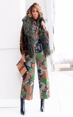 Camo Street Style Jumpsuit | Please Review COVID-19 Policy
