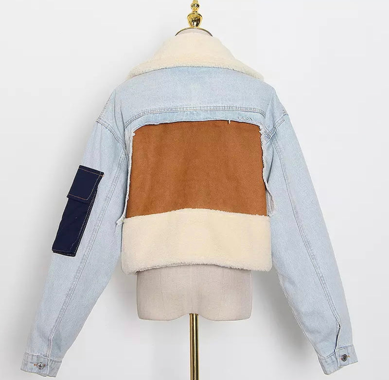 The Crop Denim Jacket