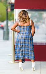 Strap It On | Plaid Dress
