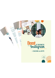 INSTAGRAM CURSUS + COACHING : Boost je business via Instagram