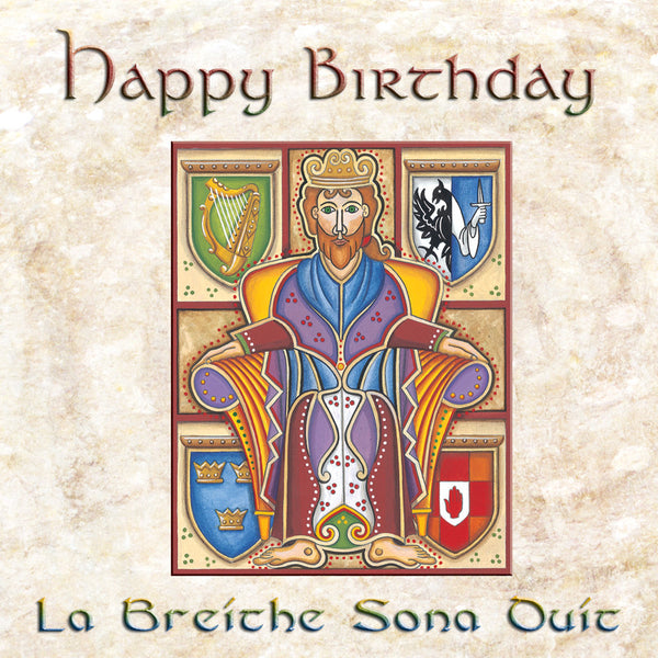 C206 Brian Boru Birthday Card