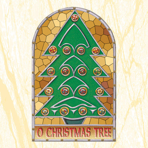 C220 O Christmas Tree Card