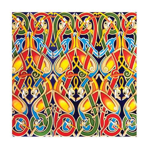 C242 Celtic Pattern Blank Card