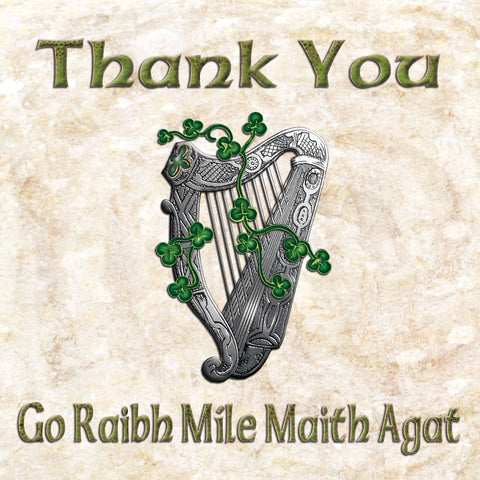 C244 - Bilingual Irish Greeting Card