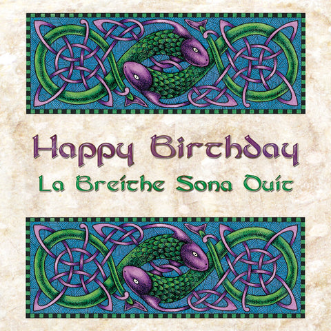 C305 - Bilingual Irish Greeting Card