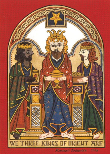 CC23 Three Wise Men Greeting Card