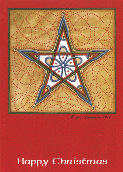 CC26 Christmas Star Card