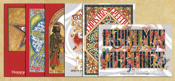 CCX6PK Christmas Card 6 Pack