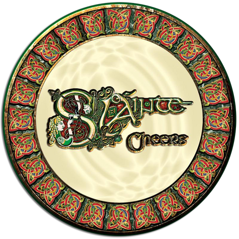 CDC04 - Slainte - 4 Pack Drink Coaster