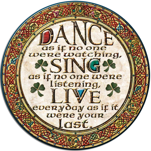 CDC19 - Dance - 4 Pack Irish Drink Coaster