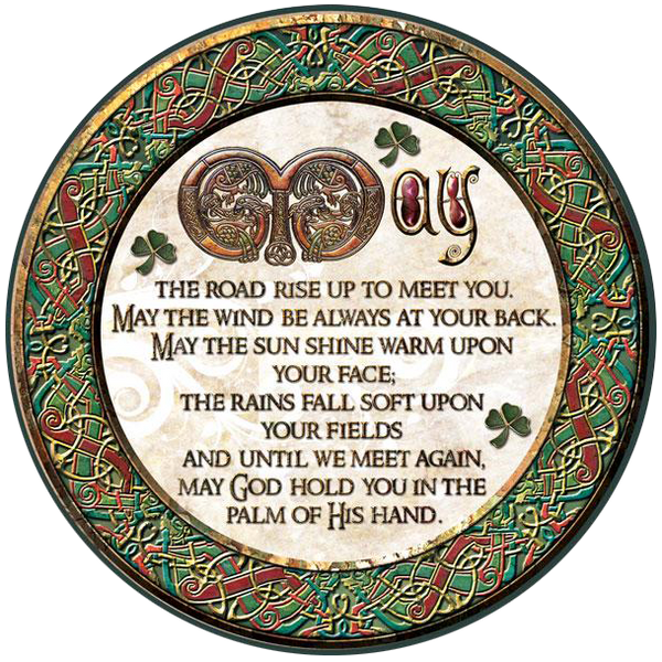 CDC36 - May the Road Rise - 4 Pack Irish Drink Coaster