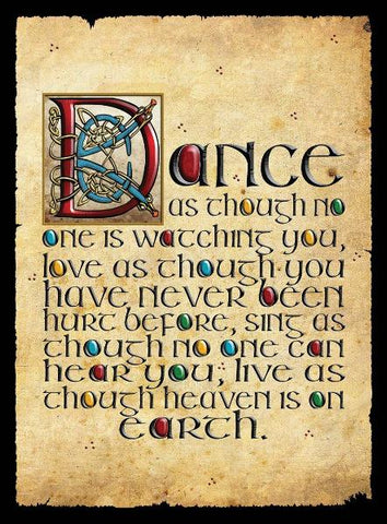 "CFM02 - ""Dance as If...."" Fridge Magnet"