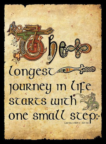 "CFM04 - ""The Longest Journey...."" Fridge Magnet"