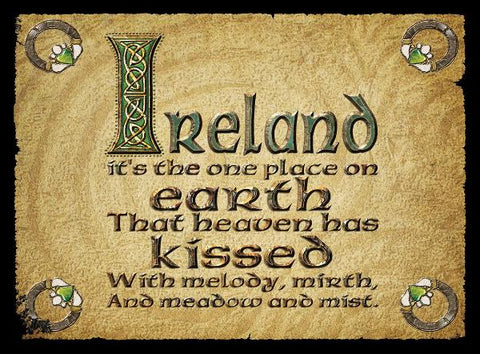 "CFM10 - ""Ireland...."" Fridge Magnet"