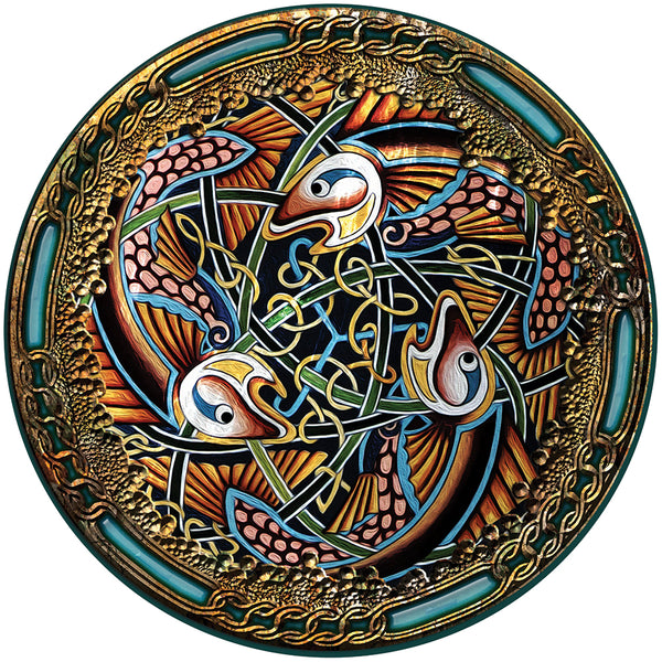 CFM13 - Celtic Fish Fridge Magnet