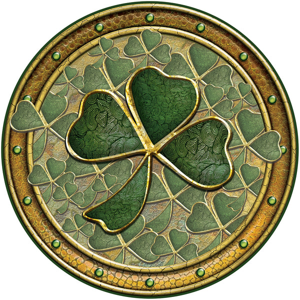 CFM18 - Shamrock Fridge Magnet