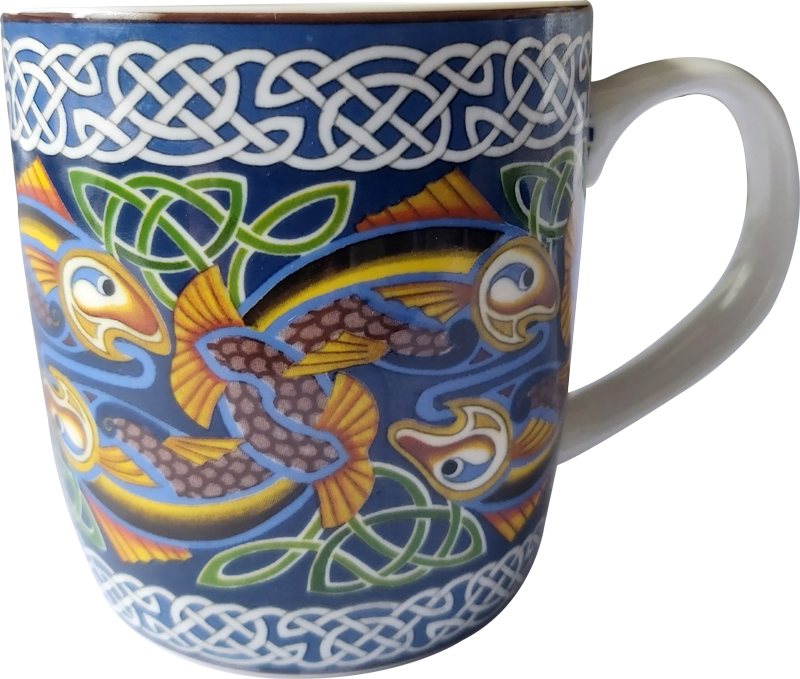 CM01 - Celtic Fish Mug