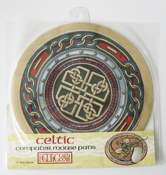 CMM08 Celtic Shield Mouse mat