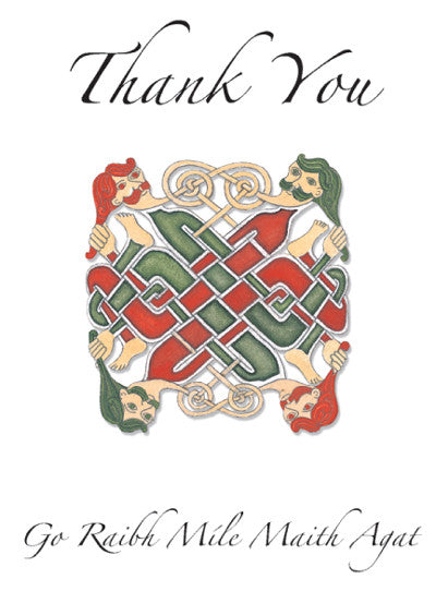 CNC13 Celtic Warriors Thank You Notecards