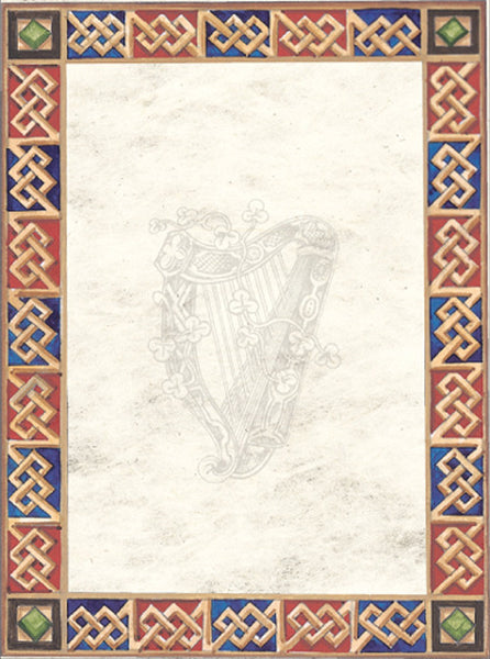 CNP01 Celtic Border Notepaper