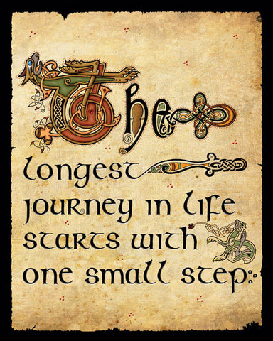 CQP04 The longest Journey Print