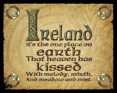 "CS10 - ""Ireland..."" - Metal Sign"