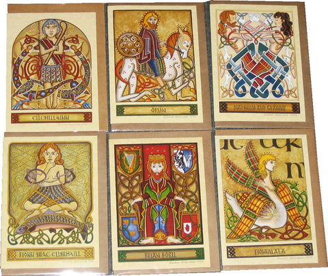 CP6PK - 6 Pack Blank Celtic People Cards