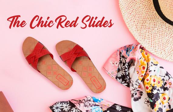 The Chic Red Slides
