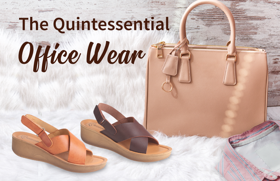 Wedges - The Quintessential Office Wear
