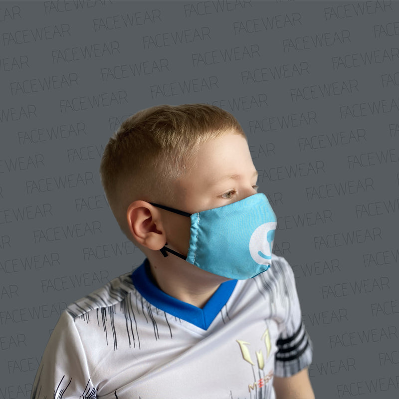 FACE MASK Blue Bear XXS - FACEWEAR