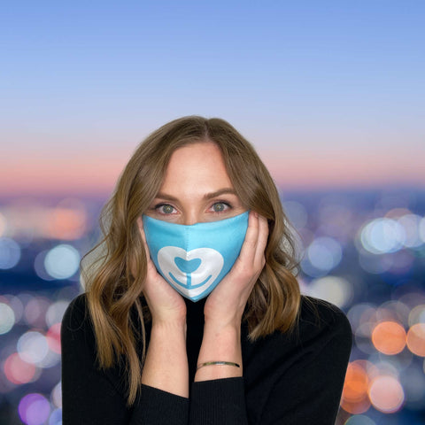 FACE MASK Blue Bear - MULTI-PURPOSE MASK