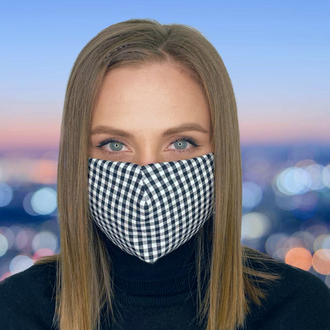 FACE MASK Squares - MULTI-PURPOSE MASK WITH F9 ePm1 FILTER