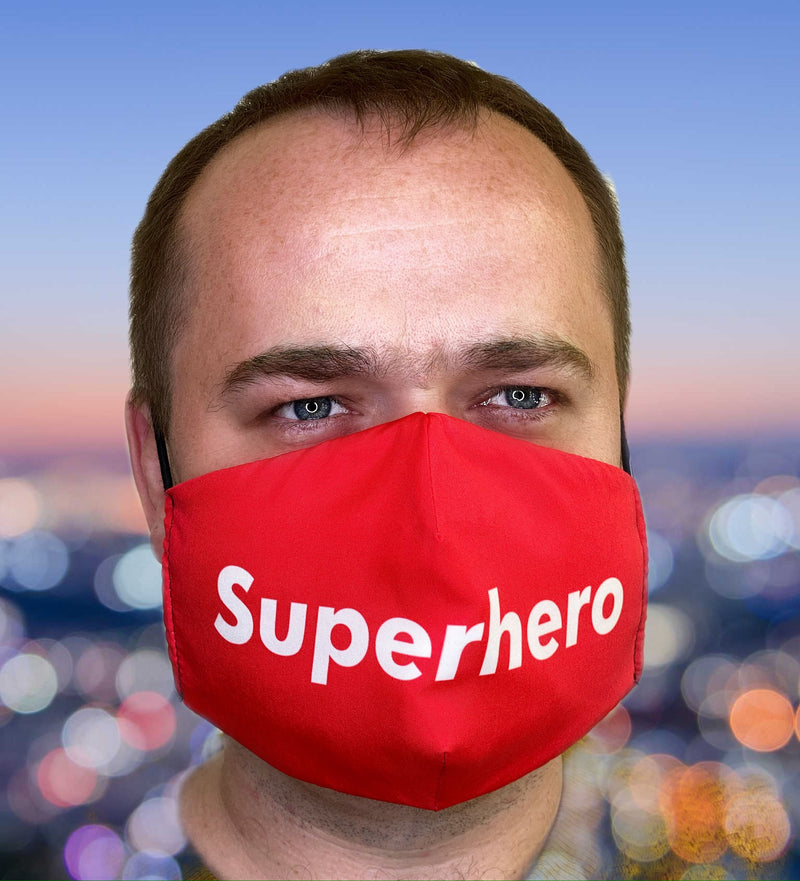 FACE MASK Superhero - FACEWEAR