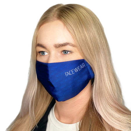 FACE MASK Facewear Style Blue - FACEWEAR