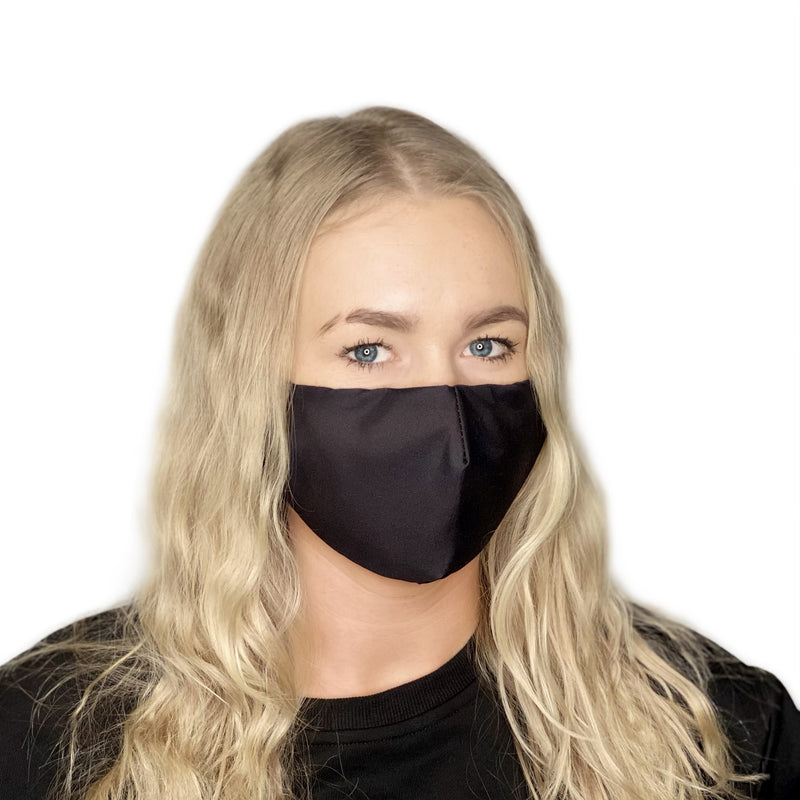 FACE MASK Classic Black - FACEWEAR