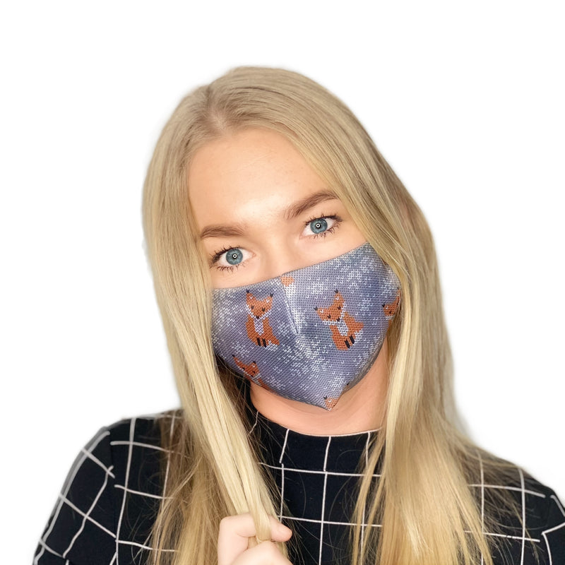 2-LAYERED FACE MASK Fox - FACEWEAR