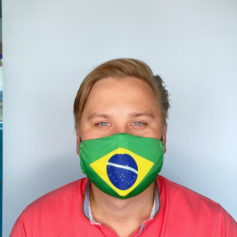 FACE MASK Brasilien - MULTI-PURPOSE MASK